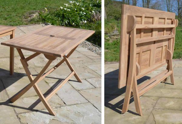 folding garden table  64