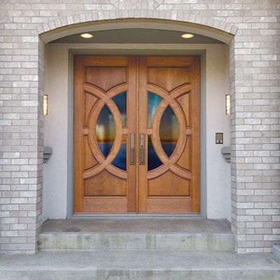 Front doors  09
