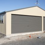 Garage sheds to protect vehicles