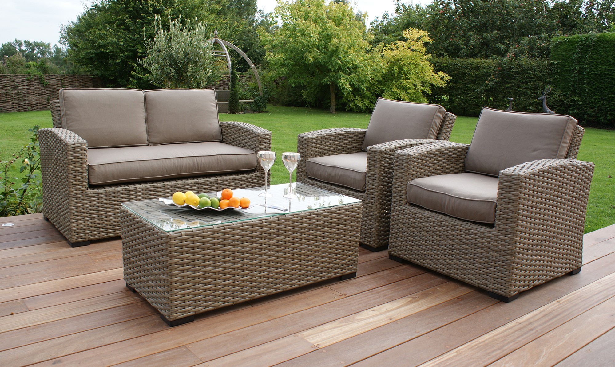 Choose The Perfect Designs Of Garden Rattan Furniture Carehomedecor