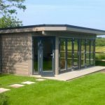 Contemporary style garden rooms