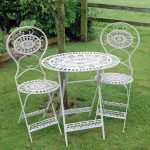 Elegant garden tables and chairs
