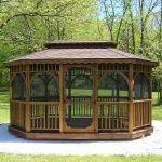 Improve your outdoor living space with gazebo kits