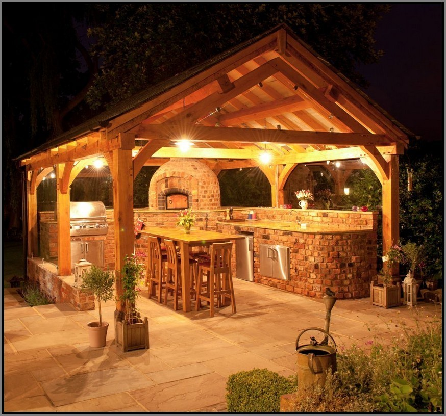 Make Your Night Colorful With Gazebo Lights Carehomedecor