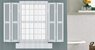 Interior window shutters 86