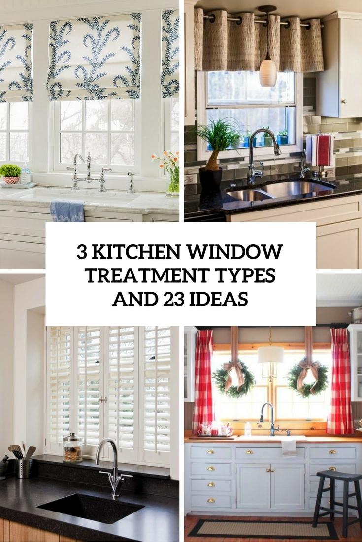 Kitchen window treatments  50
