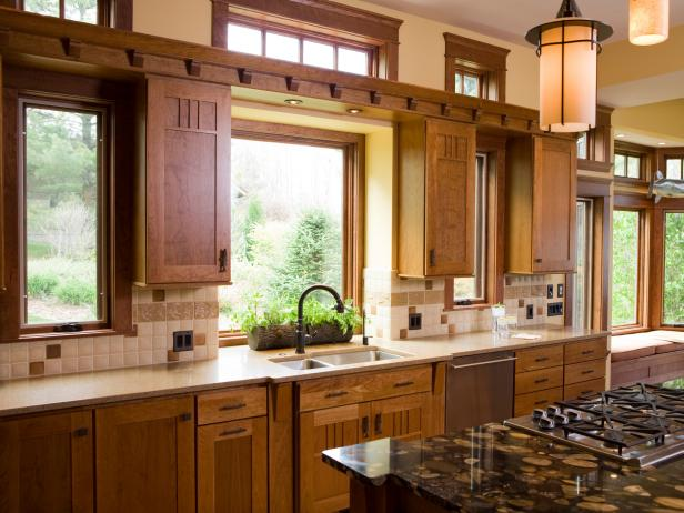 Kitchen window treatments  64