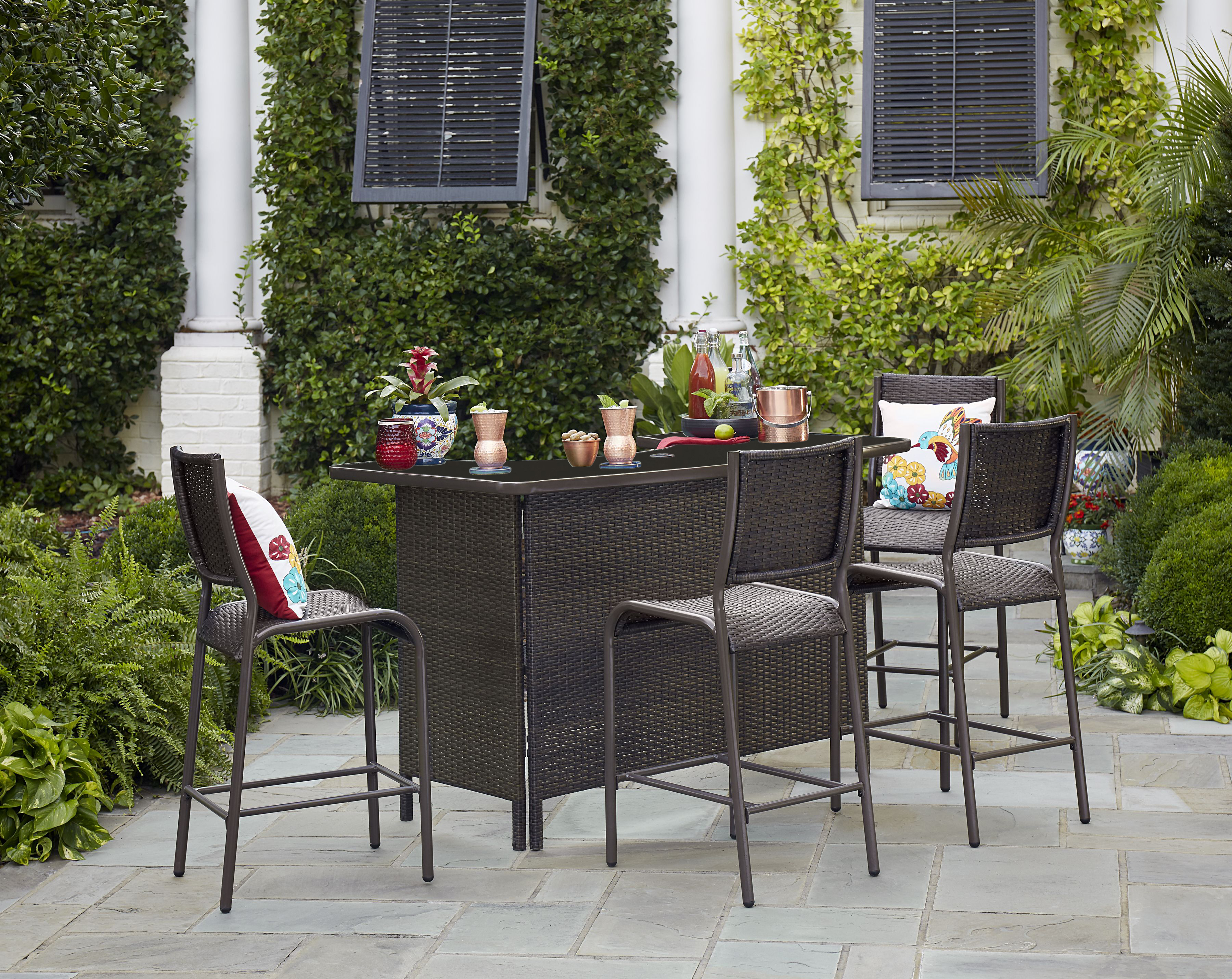 outdoor bar set  65