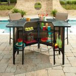 Decorate your outdoor place with luxurious outdoor bar set