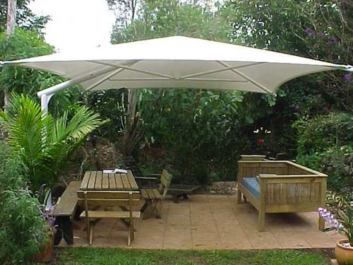 Outdoor deck umbrella  54