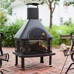 outdoor fireplace 80
