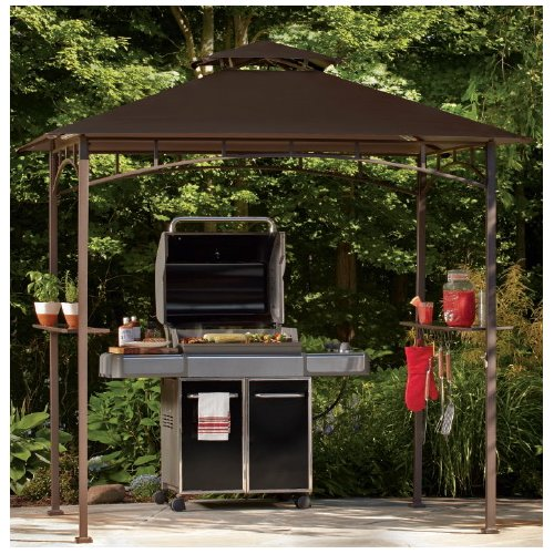 Enjoy outdoor grill gazebo