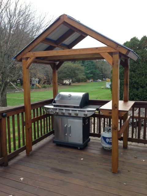 outdoor grill gazebo  56