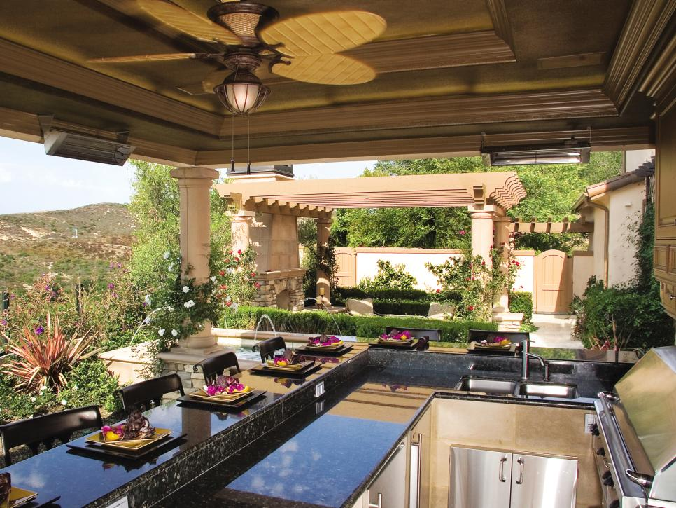 Outdoor kitchen designs  14