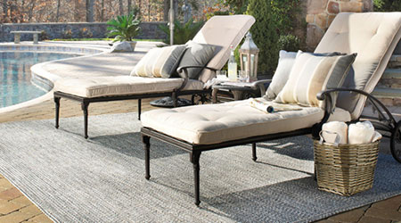 Variety Of Outdoor Rugs For Patios Material