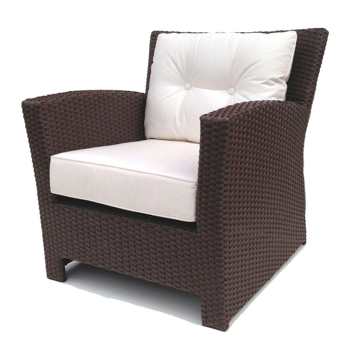 Outdoor wicker chairs  46