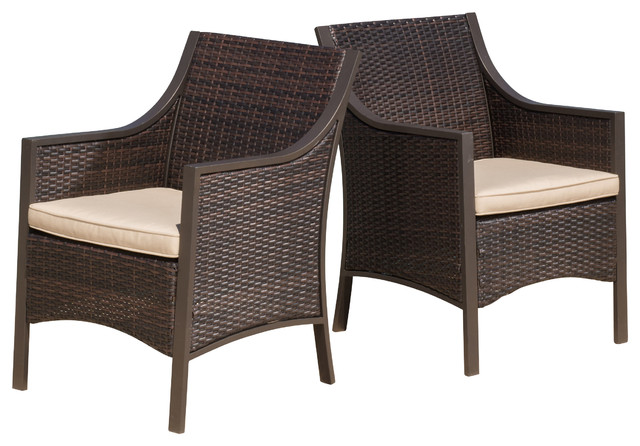 Outdoor wicker chairs  75