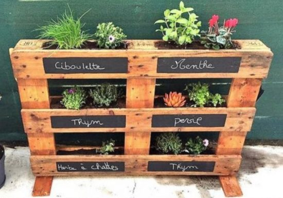 Creative Pallet Garden Ideas