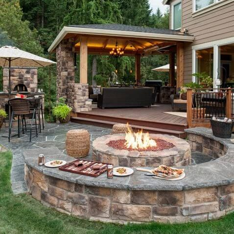 Patio design ideas  78