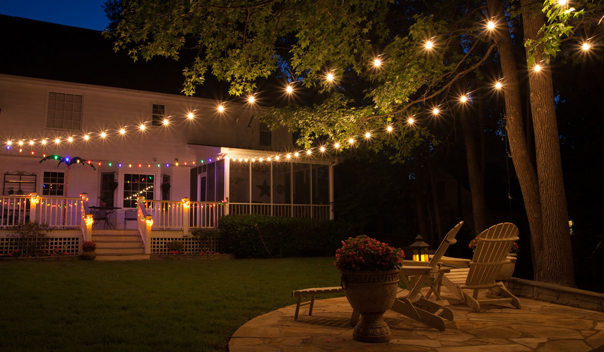 Incorporate Stunning Patio Lighting Ideas Carehomedecor