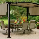 Convenient and modular designable pergola with canopy
