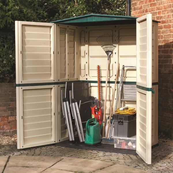 Plastic garden storage  75