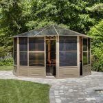 Make your choice for attractive frames for screened gazebo
