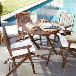 Decorate your gardens with a small outdoors tables