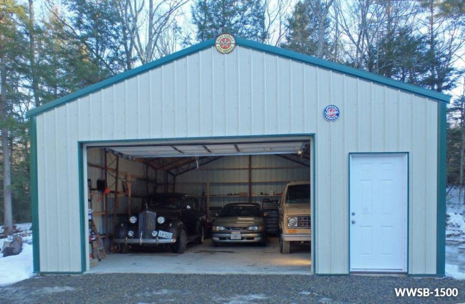 Steel garage  16
