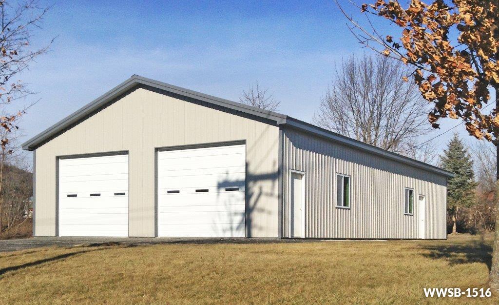 Steel garage  89