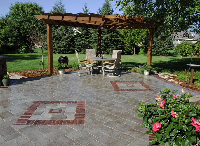 stunning paver patio  13