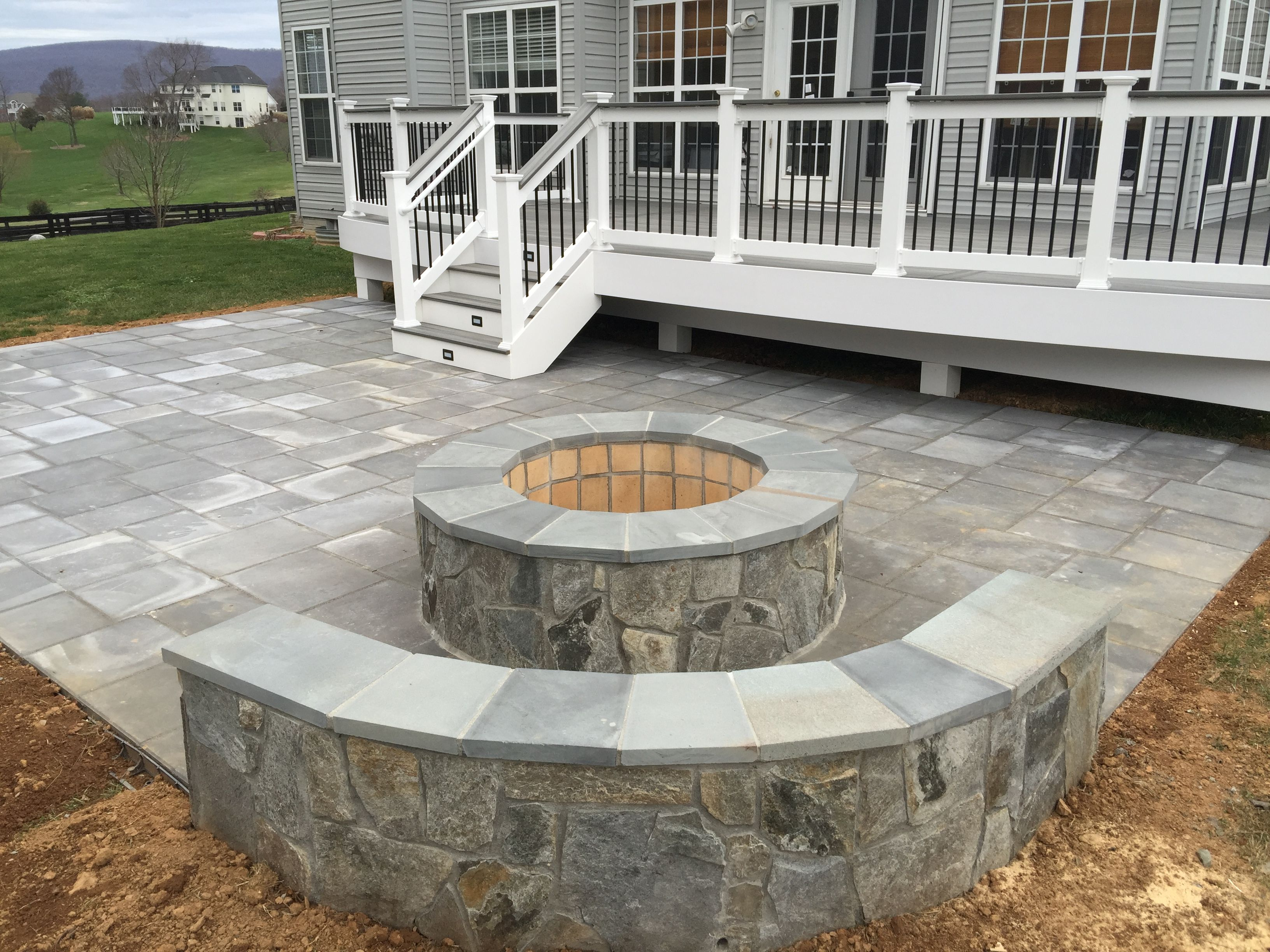 stunning paver patio  21