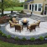 Add elegant appearances with stunning paver patio