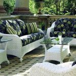white wicker patio furniture 53