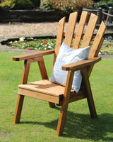 wooden garden chairs  91