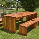 Wooden Outdoor furniture to enjoy the sun