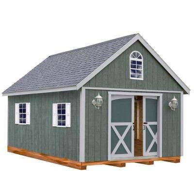 wooden sheds  34