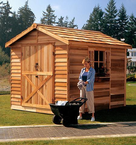 Wooden storage garden sheds  03