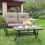 Make your home luxuries by setting up wrought garden iron furniture