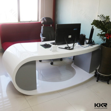 KKR office desk, China Office furniture acrylic solid surface CEO