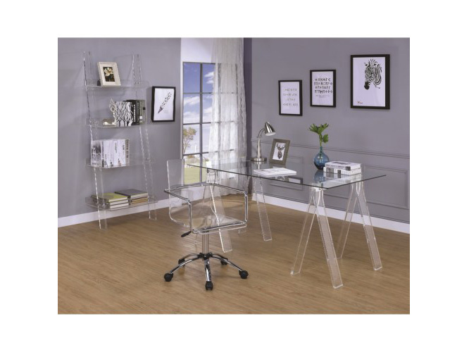 Acrylic Office Desk Set - Shop for Affordable Home Furniture, Decor