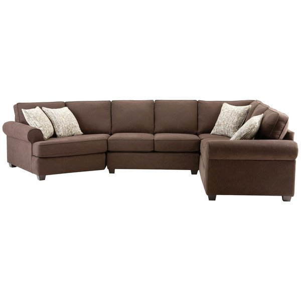 Shop Art Van Laf Armless Corner Sectional Sofa - Free Shipping Today