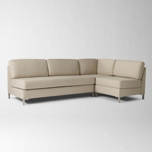 Ideal 2018 Popular Armless Sectional Sofas, Armless Sectional Sofa