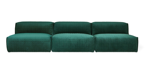 Gus Nexus 3PC Armless Sectional Sofa - 2Modern