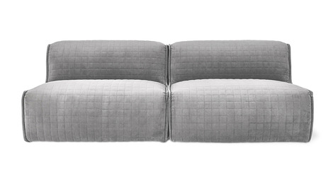 Gus Nexus 2PC Armless Sectional Sofa - 2Modern