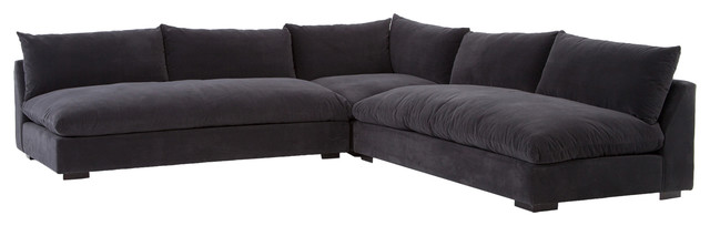Seating – armless sectional   sofa