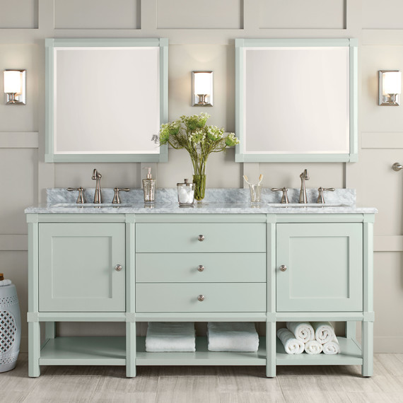 These Bath Vanities Deliver on Storage and Style | Martha Stewart