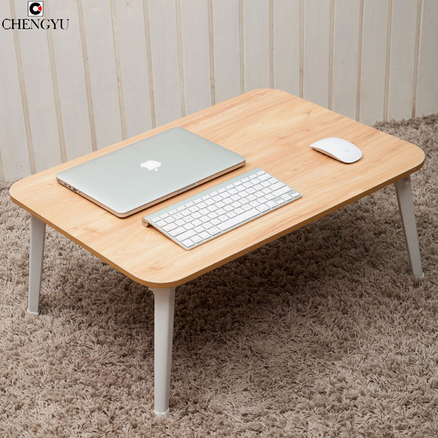 5 STYLES Simple Fashion Solid Wooden Bed Computer Desk Laptop Desk