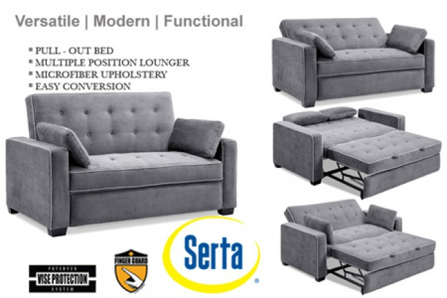 Buy a bed sofa instead!