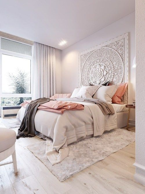 Converting simple rooms to modern bohemian bedroom styles | Modern